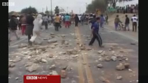 Anger at Peru quake rebuilding