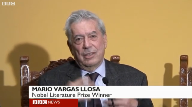 Nobel Literature winner welcomed home to Peru